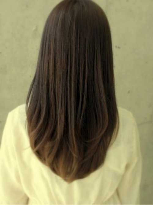 Best ideas about Straight Cut Hair . Save or Pin 20 Long Layered Straight Hairstyles Now.