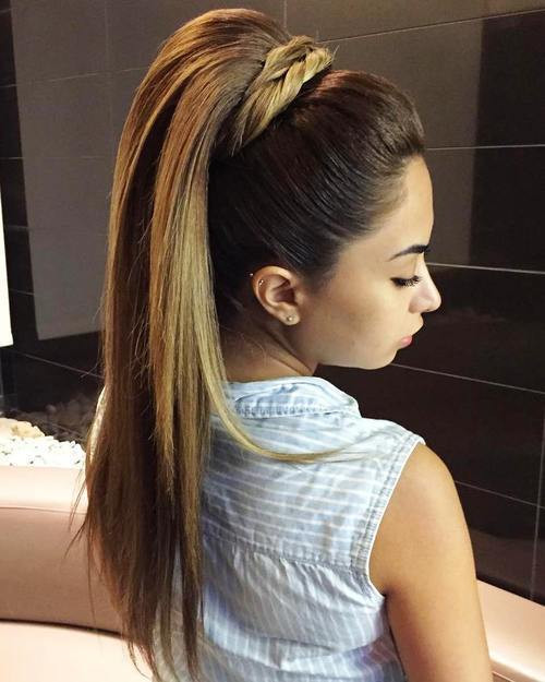 Best ideas about Straight Prom Hairstyle . Save or Pin 35 Fetching Hairstyles for Straight Hair Now.