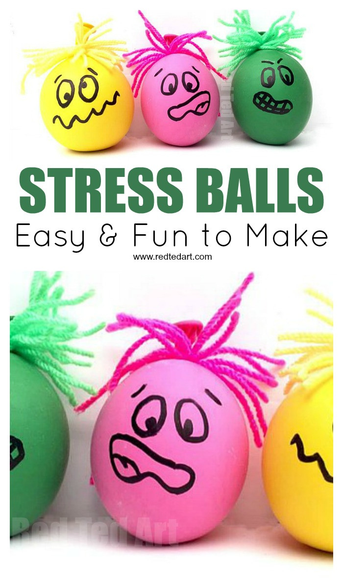 Best ideas about Stress Balls DIY . Save or Pin How to Make Stress Balls Red Ted Art Now.