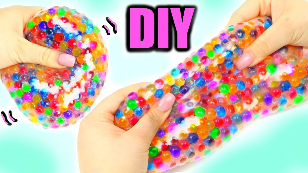 Best ideas about Stress Balls DIY . Save or Pin Super Squishy Stretchy Ball DIY Orbeez Stress Ball Now.