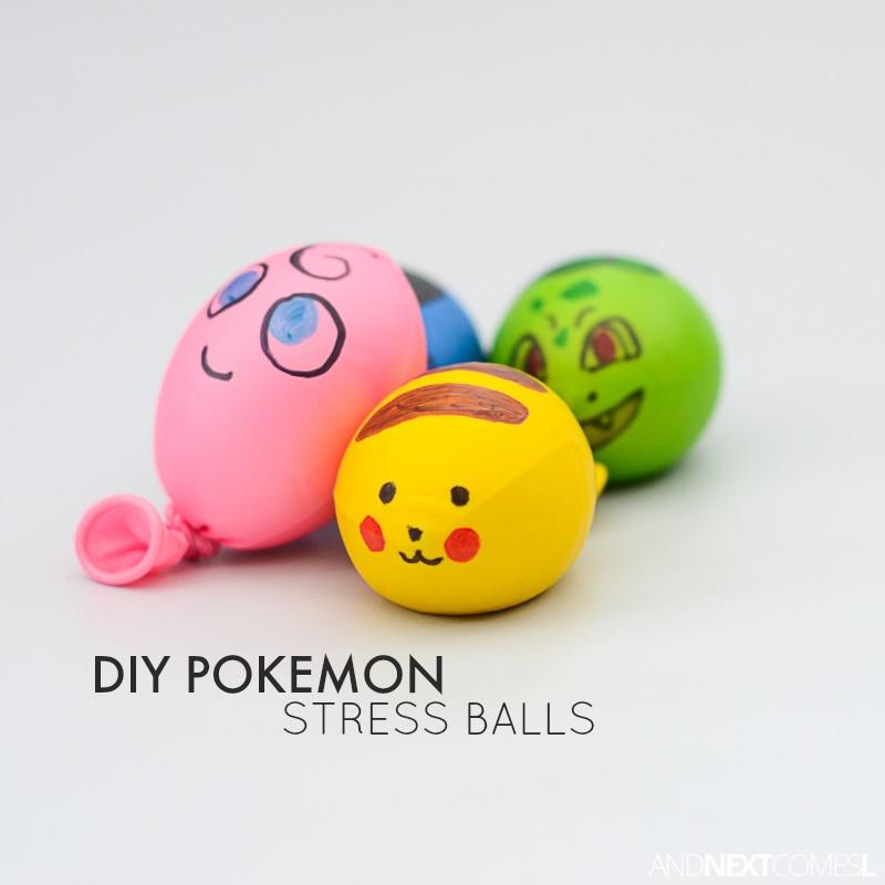 Best ideas about Stress Balls DIY . Save or Pin DIY Pokemon Stress Balls Now.
