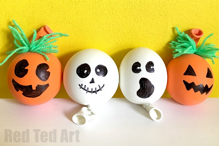 Best ideas about Stress Balls DIY . Save or Pin How to Make a Stress Ball Halloween Red Ted Art s Blog Now.