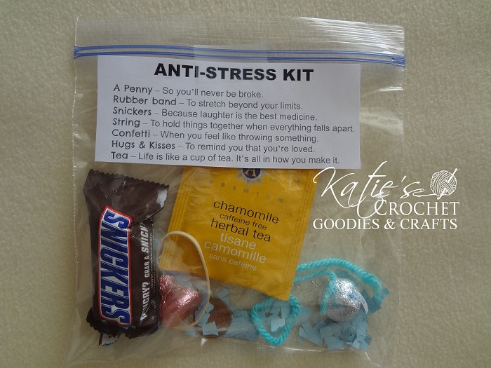 Best ideas about Stress Relief Gifts Unique Gift Ideas . Save or Pin Funny Stress Relief Gifts Katie s Crochet Goo s & Crafts Now.