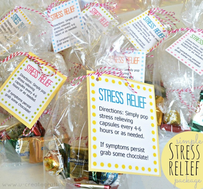 Best ideas about Stress Relief Gifts Unique Gift Ideas . Save or Pin Simple Stress Relief Gift Idea U Create Now.