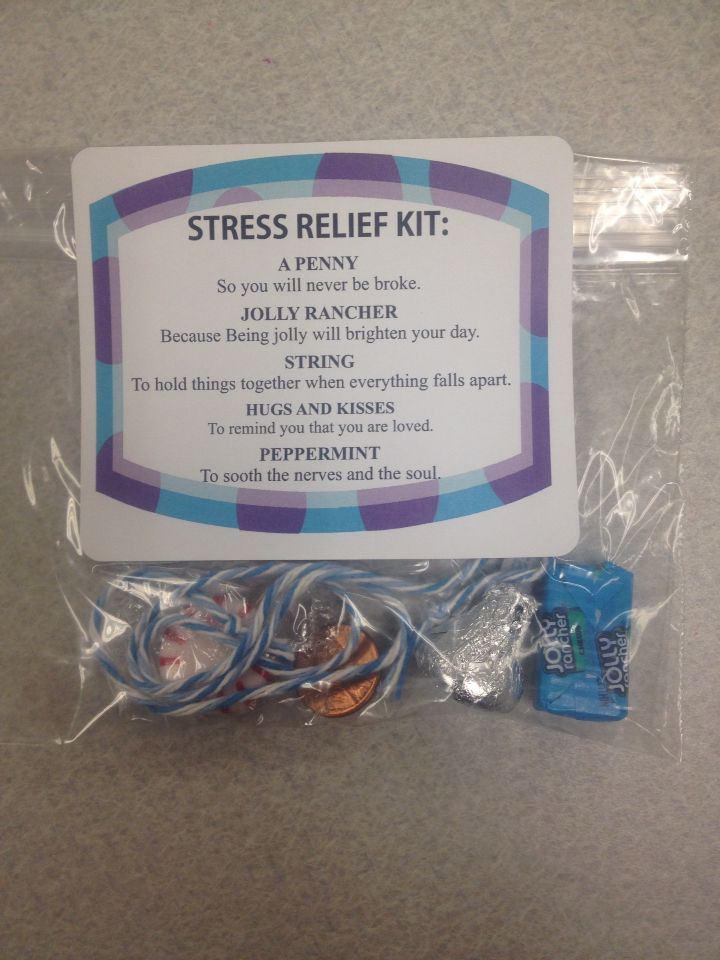 Best ideas about Stress Relief Gifts Unique Gift Ideas . Save or Pin Stress relief kits Leeland Now.