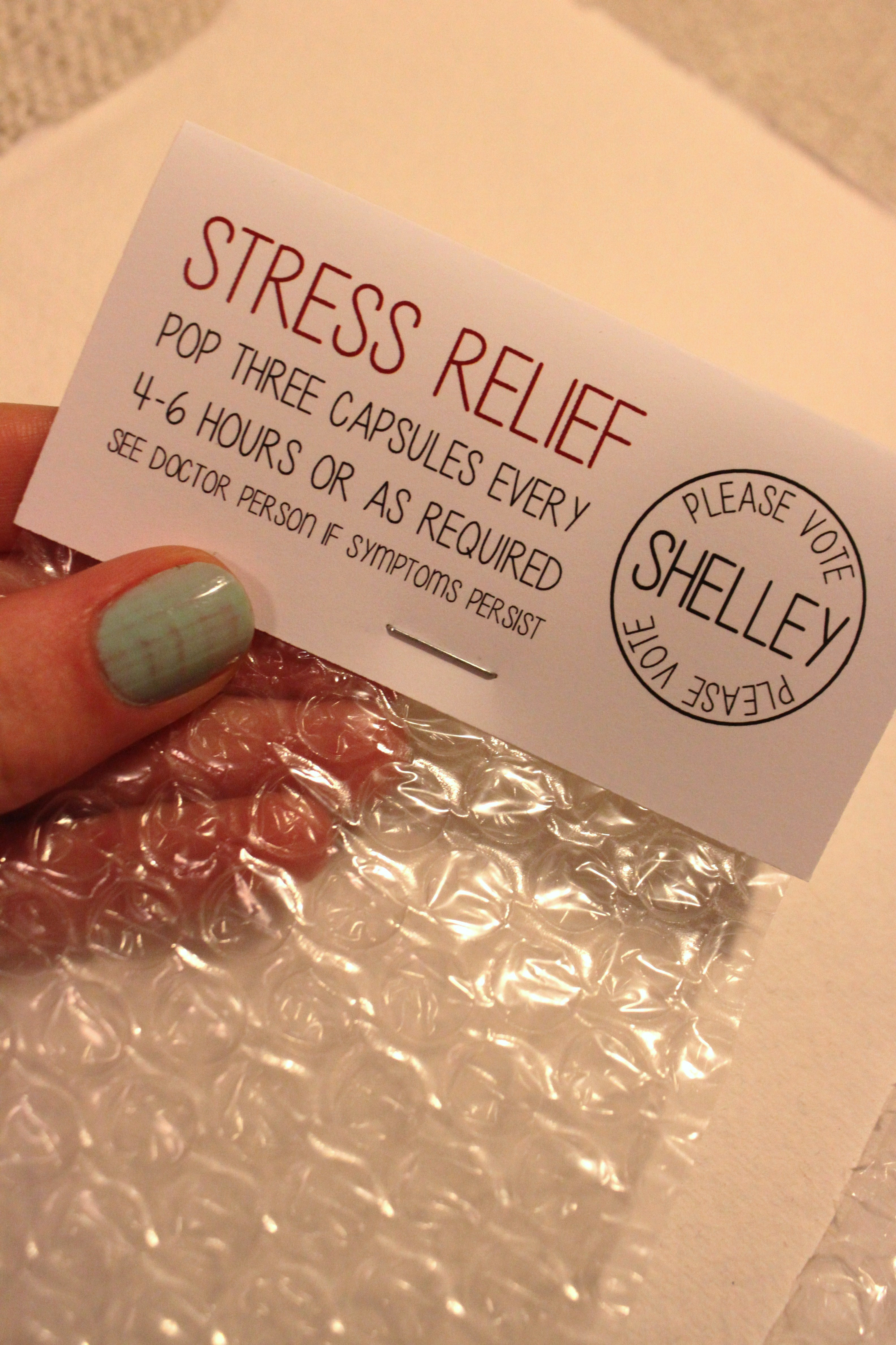 Best ideas about Stress Relief Gifts Unique Gift Ideas . Save or Pin Stress Relief Bubble Wrap Now.