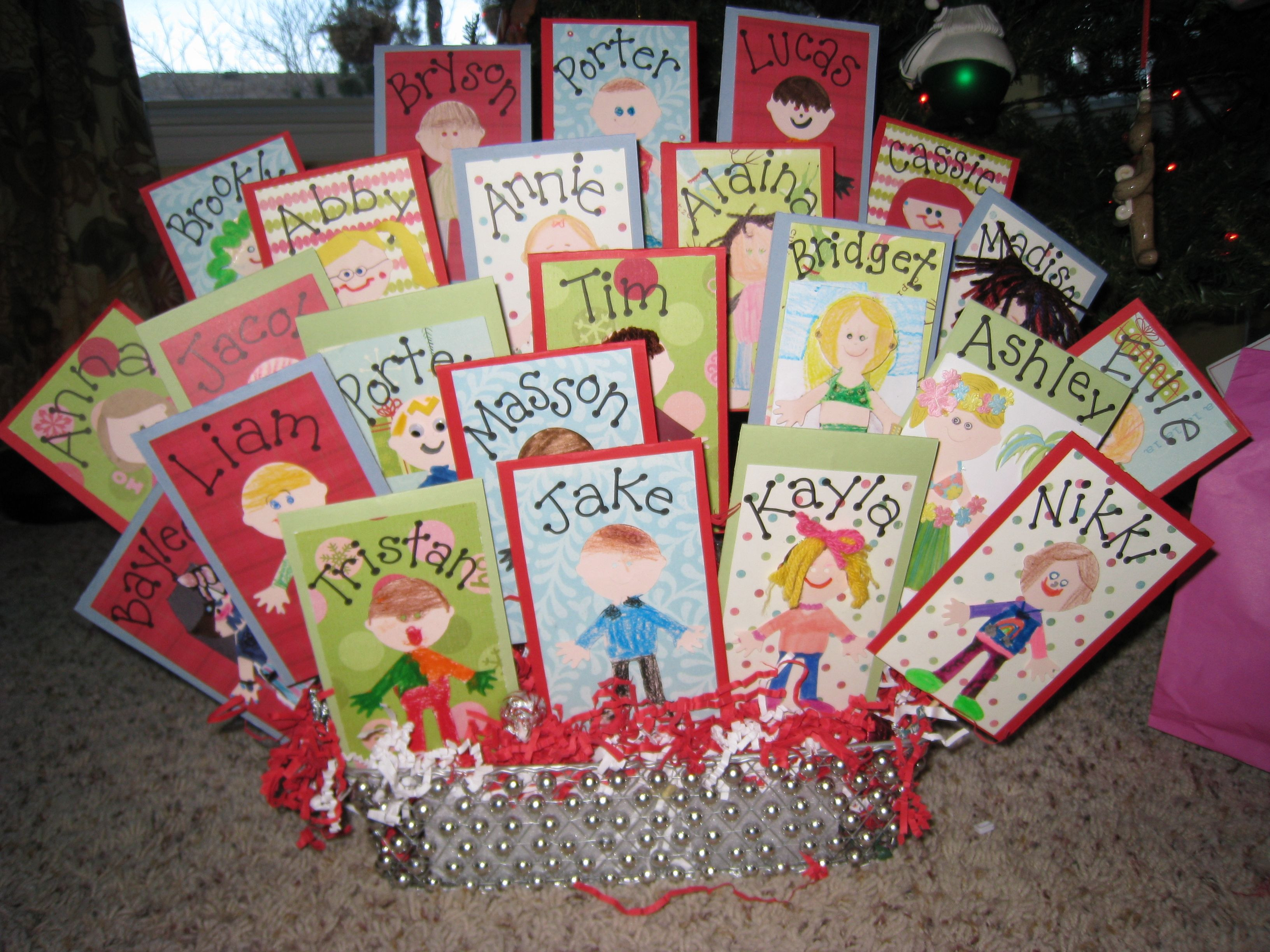 Best ideas about Student Teacher Gift Ideas . Save or Pin Awesome Teacher Gift Idea My daughters class did this A Now.