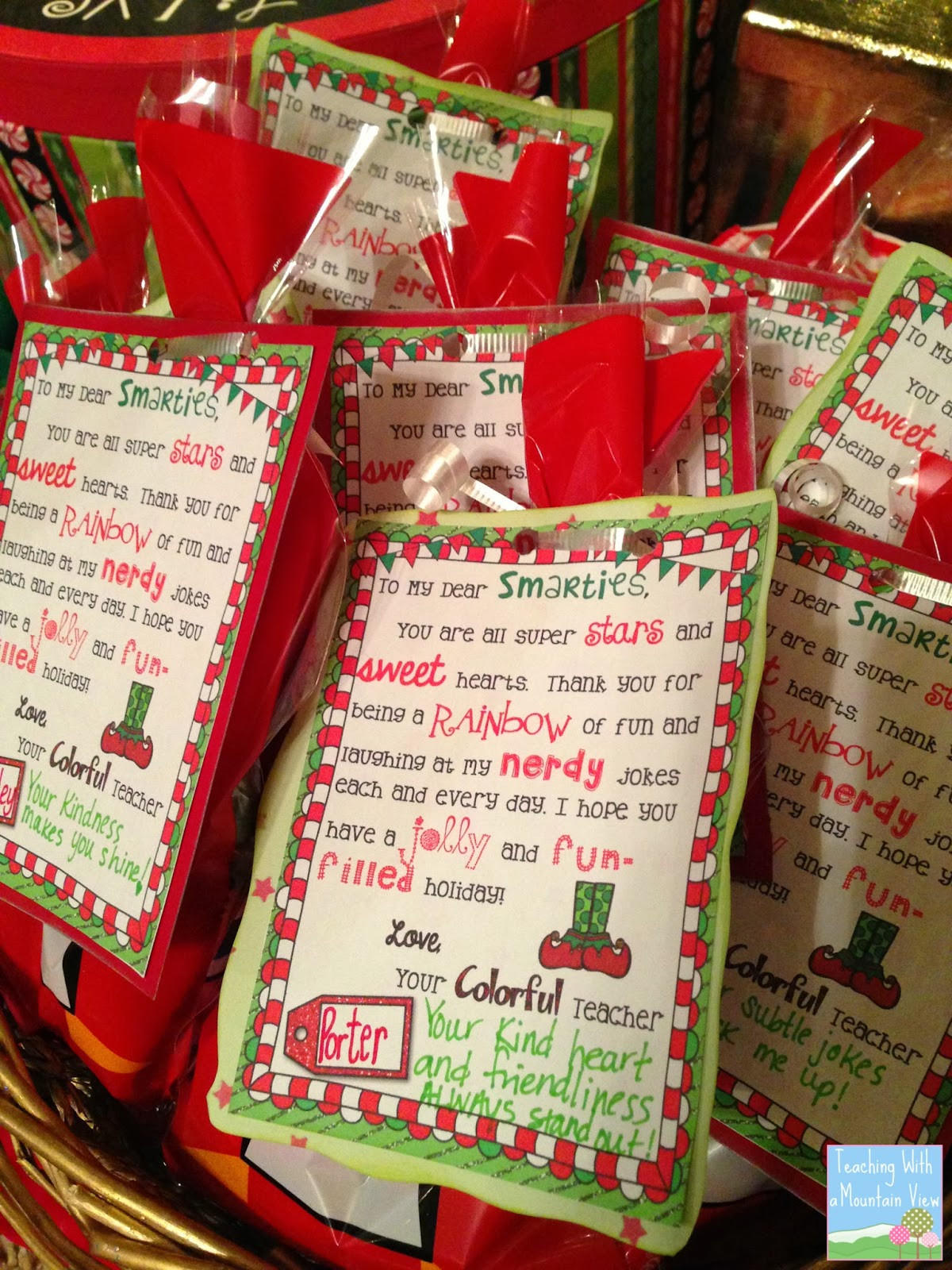 Best ideas about Student Teacher Gift Ideas . Save or Pin Teaching With a Mountain View December 2013 Now.