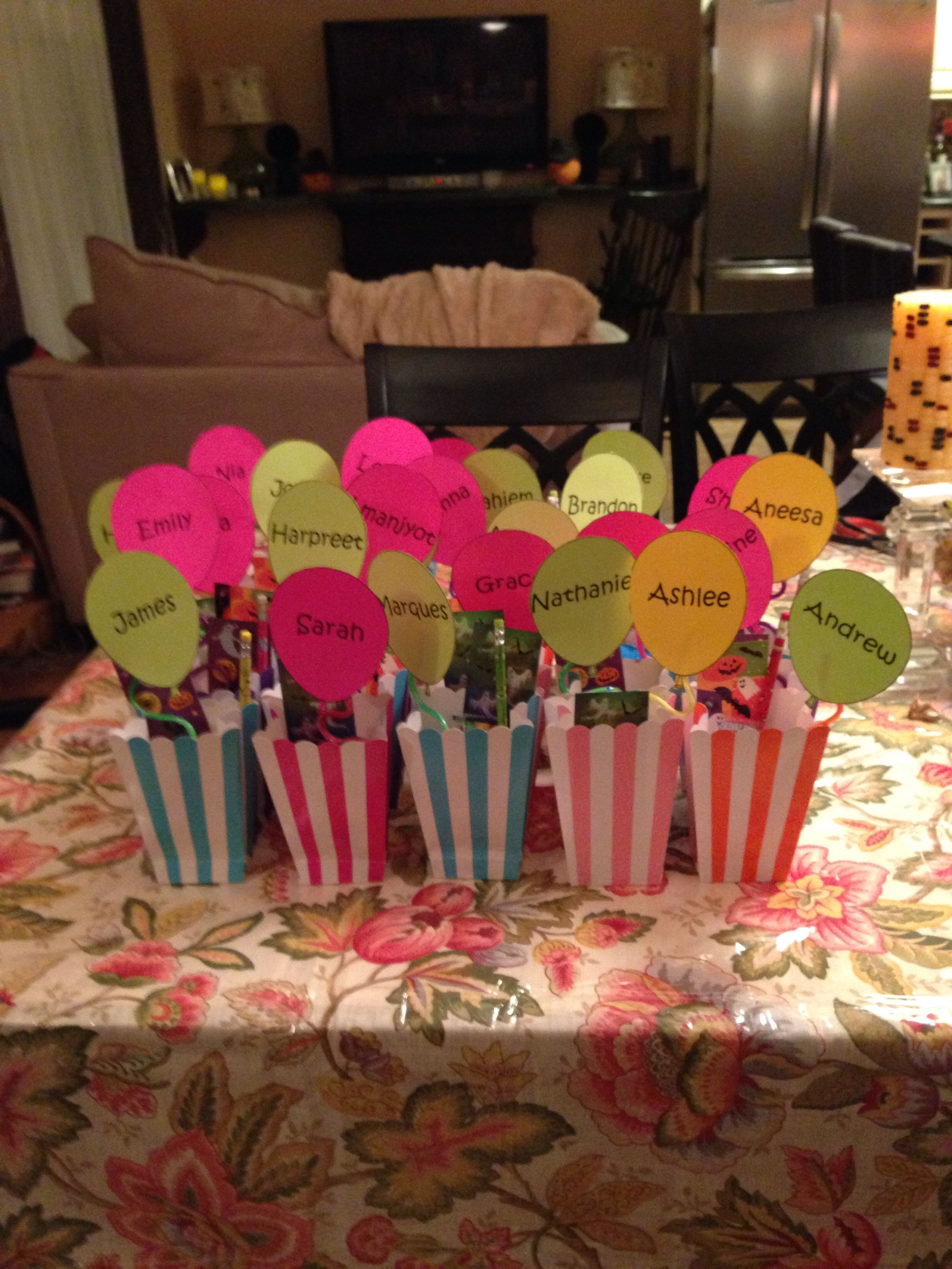 Best ideas about Student Teacher Gift Ideas . Save or Pin Goodbye personalized goo bags for my students Now.