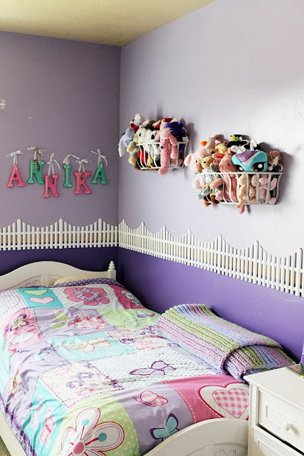 Best ideas about Stuffed Animal Storage Ideas . Save or Pin 25 Clever & Creative Ways to Organize Kids Stuffed Toys Now.