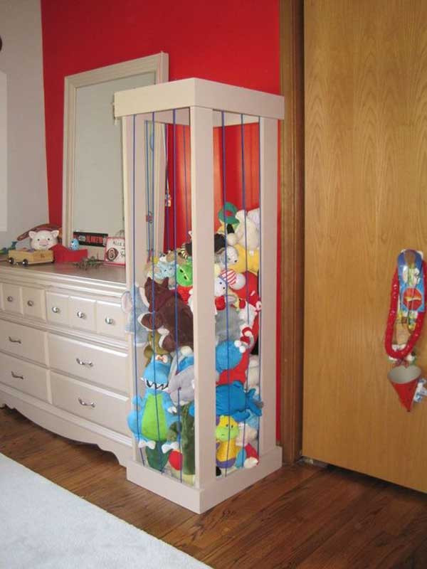 Best ideas about Stuffed Animal Storage Ideas . Save or Pin Top 28 Clever DIY Ways to Organize Kids Stuffed Toys Now.