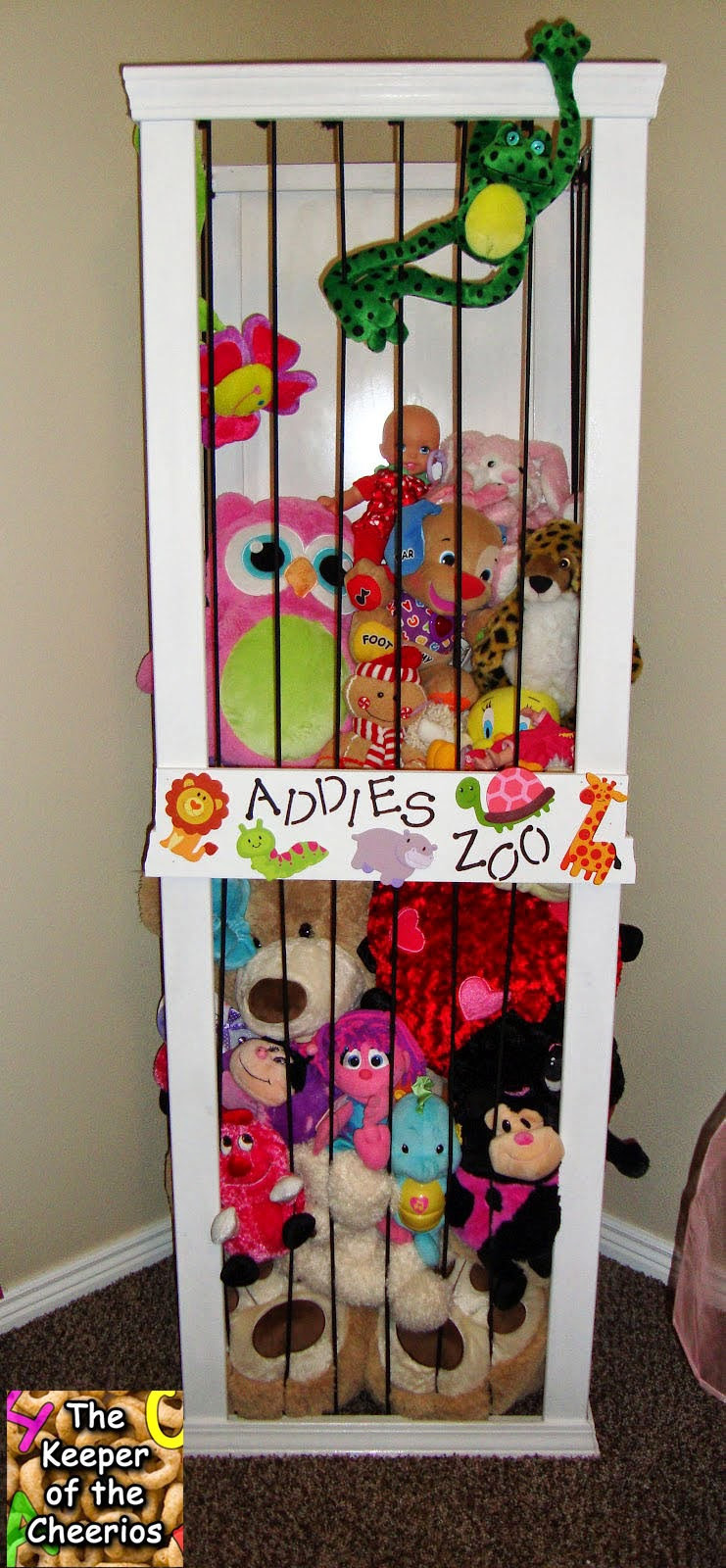 Best ideas about Stuffed Animal Storage Ideas . Save or Pin 10 toy storage solutions Now.