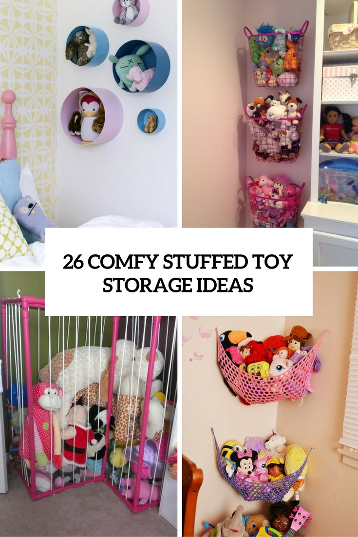 Best ideas about Stuffed Animal Storage Ideas . Save or Pin 26 fy Stuffed Toys Storage Ideas Shelterness Now.