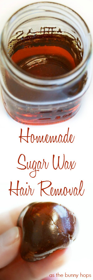 Best ideas about Sugar Wax DIY . Save or Pin Homemade Sugar Wax Recipe As The Bunny Hops Now.