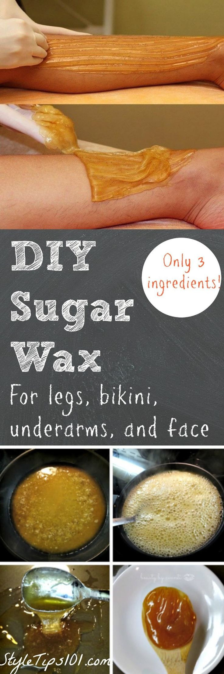 Best ideas about Sugar Wax DIY . Save or Pin 25 best ideas about Homemade sugar wax on Pinterest Now.