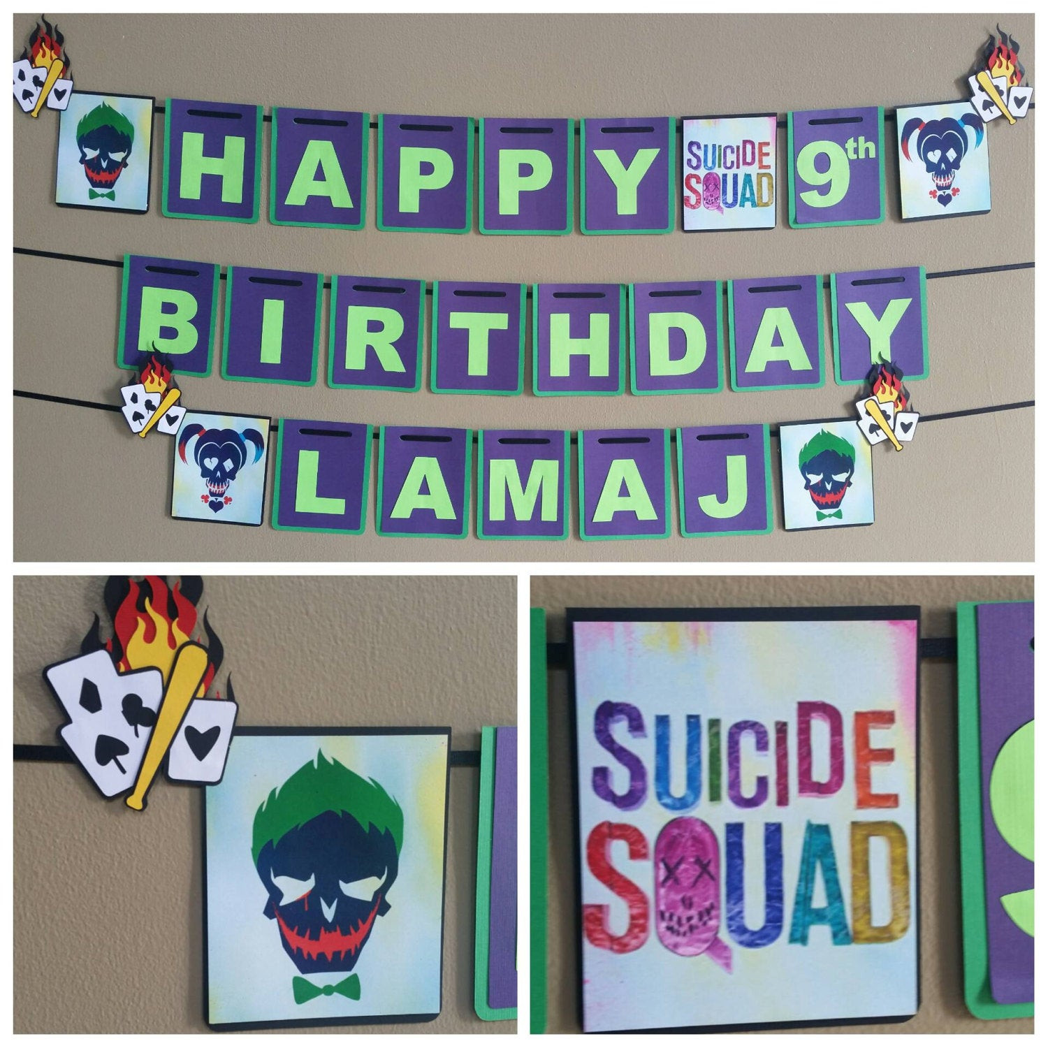 Best ideas about Suicide Squad Birthday Party . Save or Pin Suicide Squad Birthday Banner Suicide Squad Banner Suicide Now.