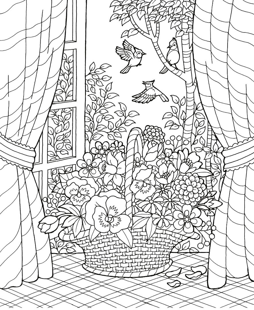 Best ideas about Summer Coloring Pages For Adults . Save or Pin Coloring Party Now.