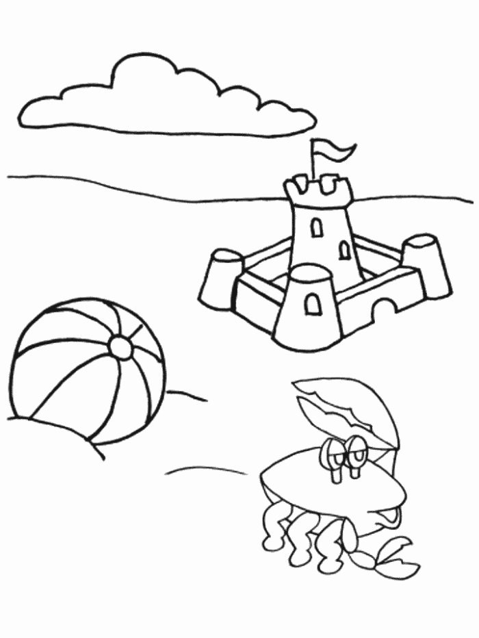 Best ideas about Summer Coloring Sheets For Kids . Save or Pin Summer coloring pages for kids Now.