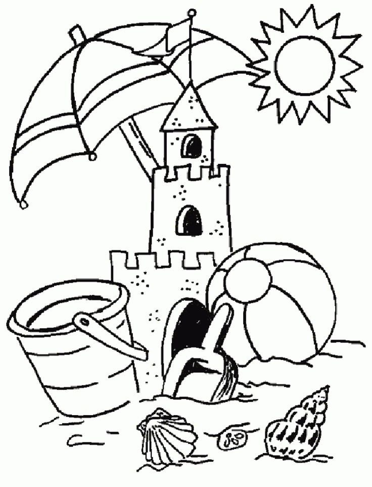 Best ideas about Summer Coloring Sheets For Kids . Save or Pin Top 25 best Summer coloring pages ideas on Pinterest Now.