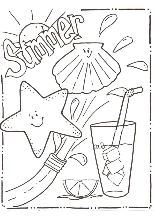 Best ideas about Summer Coloring Sheets For Kids . Save or Pin Download Free Printable Summer Coloring Pages for Kids Now.
