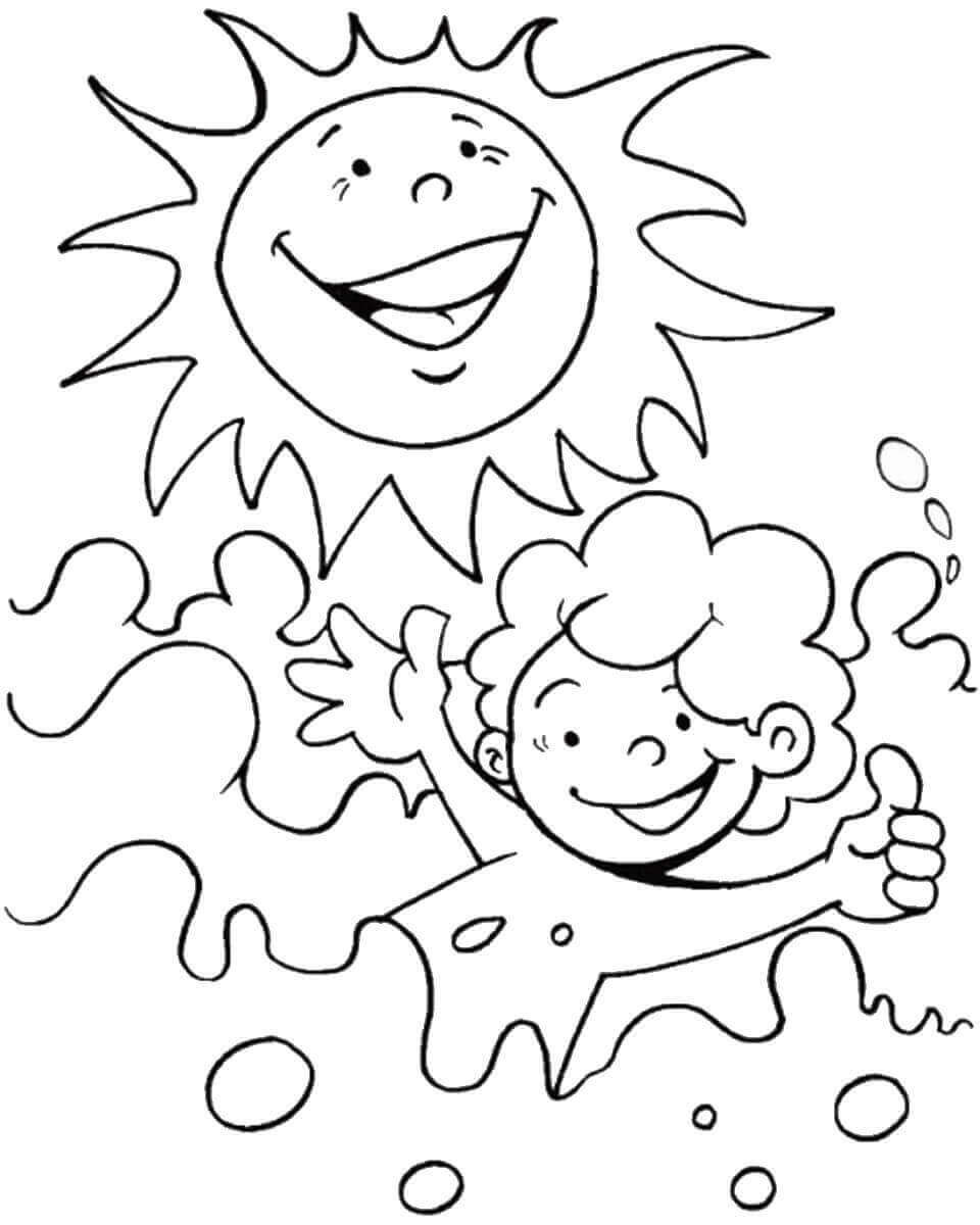 Best ideas about Summer Coloring Sheets For Kids . Save or Pin 36 Free Printable Summer Coloring Pages Now.