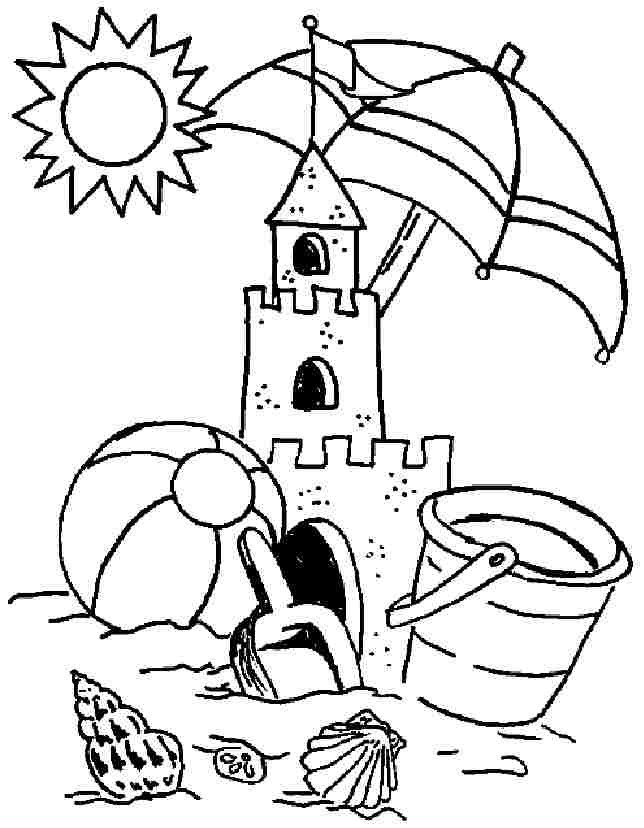 Best ideas about Summer Coloring Sheets For Kids . Save or Pin Preschool Summer Coloring Pages Coloring Home Now.