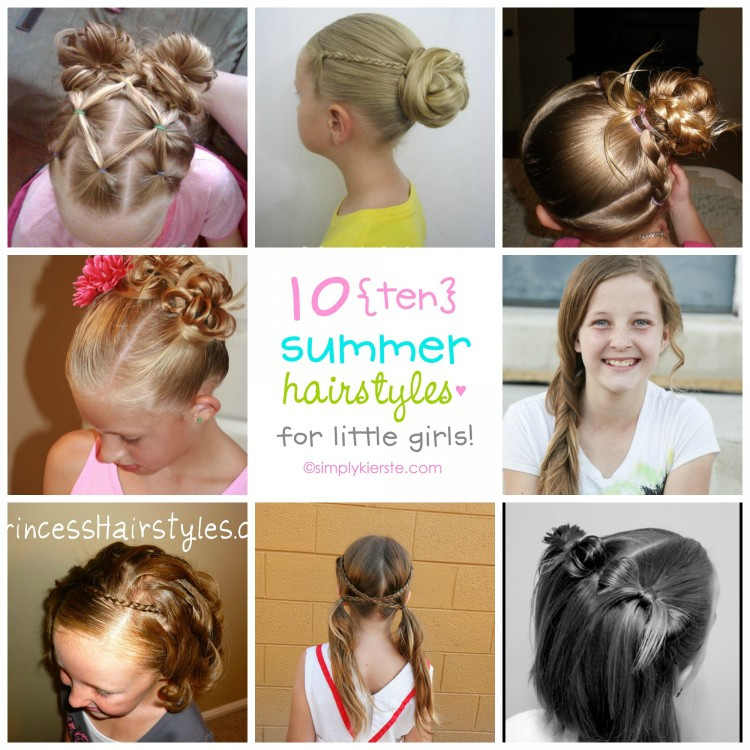 Best ideas about Summer Haircuts For Girls . Save or Pin 10 Fun Summer Hairstyles for Little Girls Now.