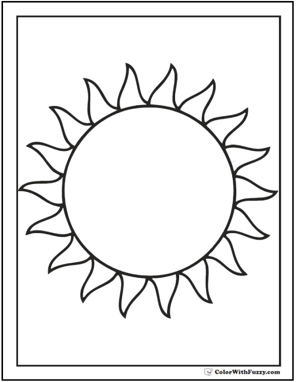 Best ideas about Sun Preschool Coloring Sheets . Save or Pin 60 Star Coloring Pages Customize And Print PDF Now.