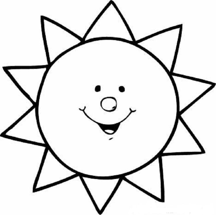 Best ideas about Sun Preschool Coloring Sheets . Save or Pin Pin by cherlyn on Coloring Pages Ideas Now.