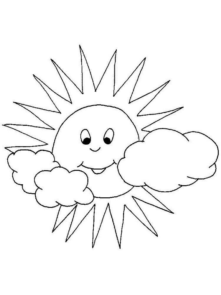Best ideas about Sun Preschool Coloring Sheets . Save or Pin Sun coloring pages Download and print Sun coloring pages Now.