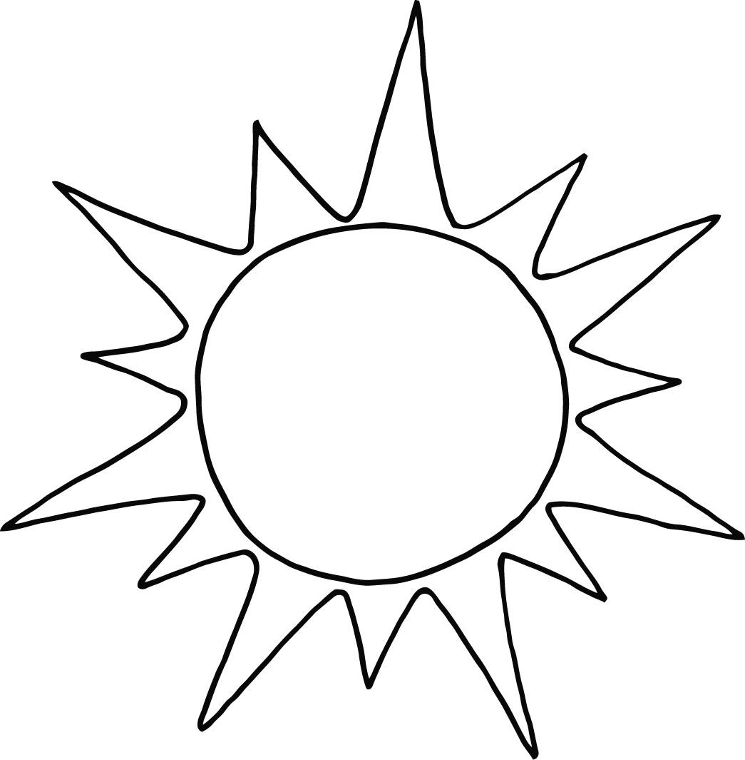 Best ideas about Sun Preschool Coloring Sheets . Save or Pin sun coloring page printable for preschool Coloring Point Now.