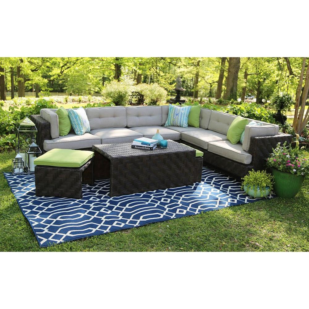 Best ideas about Sunbrella Outdoor Furniture . Save or Pin AE Outdoor Canyon 7 Piece All Weather Wicker Patio Now.