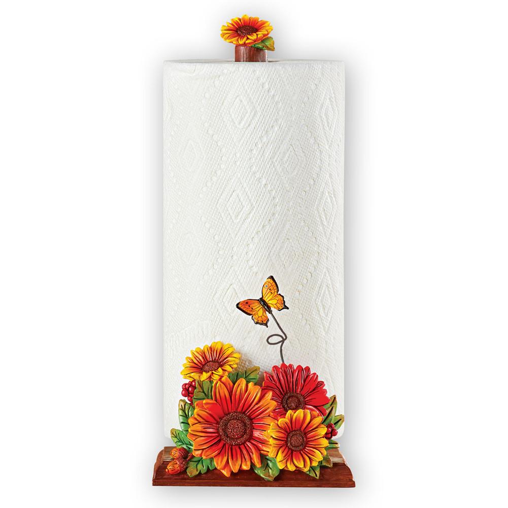 Best ideas about Sunflower Kitchen Decor Walmart . Save or Pin Unique Sunflower Kitchen Decor Single Roll Paper Towel Now.