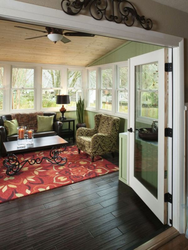 Best ideas about Sunroom Furniture Ideas . Save or Pin 35 Beautiful Sunroom Design Ideas Now.