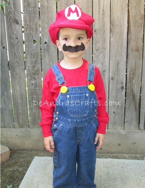 Best ideas about Super Mario Costume DIY . Save or Pin Super Mario Hat Tutorial Now.