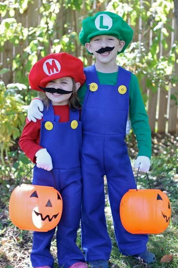 Best ideas about Super Mario Costume DIY . Save or Pin 50 Super Cool Character Costume Ideas Hative Now.