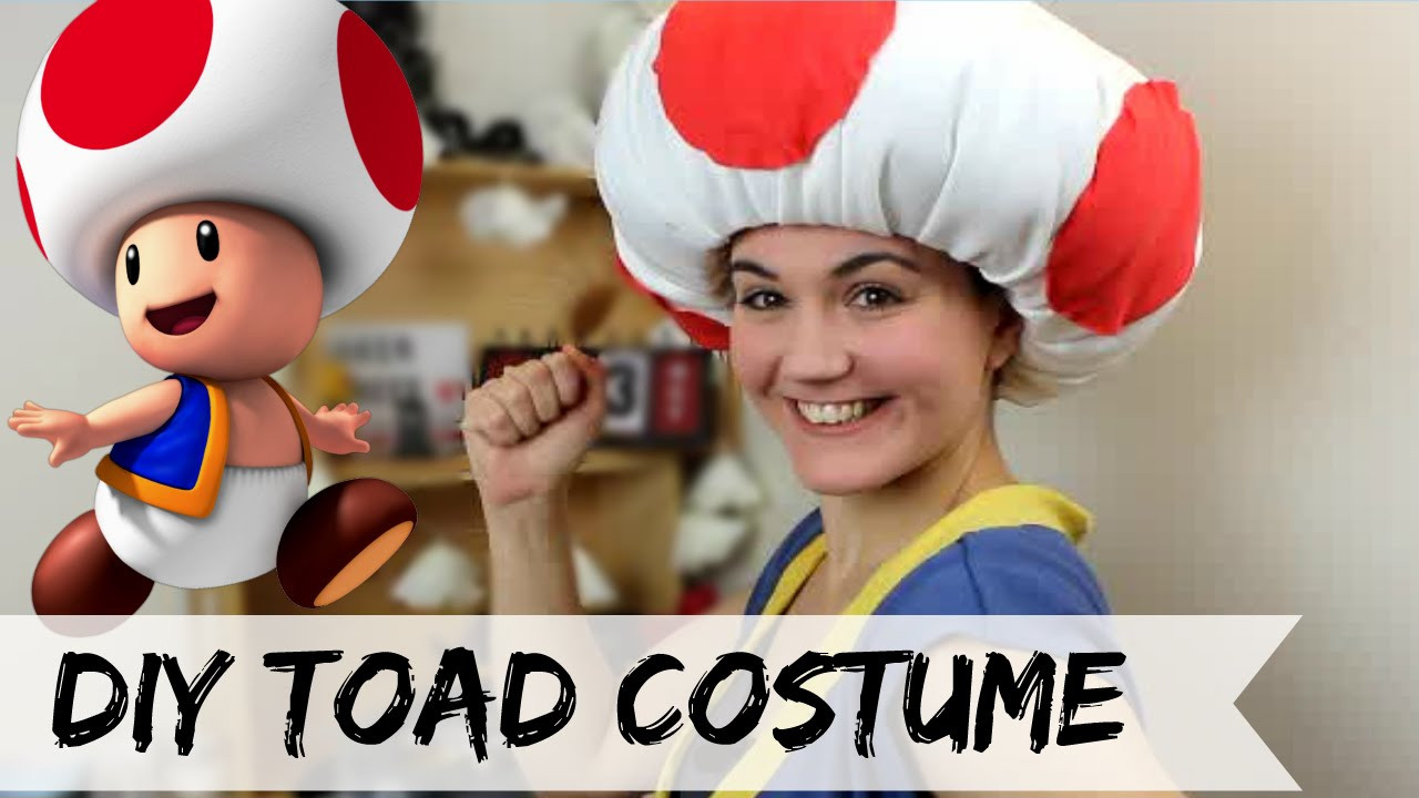 Best ideas about Super Mario Costume DIY . Save or Pin DIY Toad costume No Sew Now.