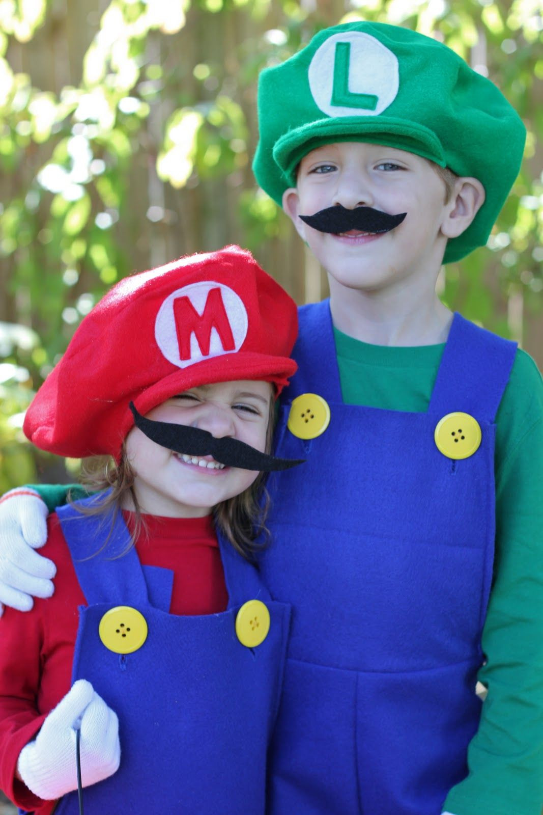 Best ideas about Super Mario Costume DIY . Save or Pin How to Make Mario and Luigi Costumes Tutorial Now.