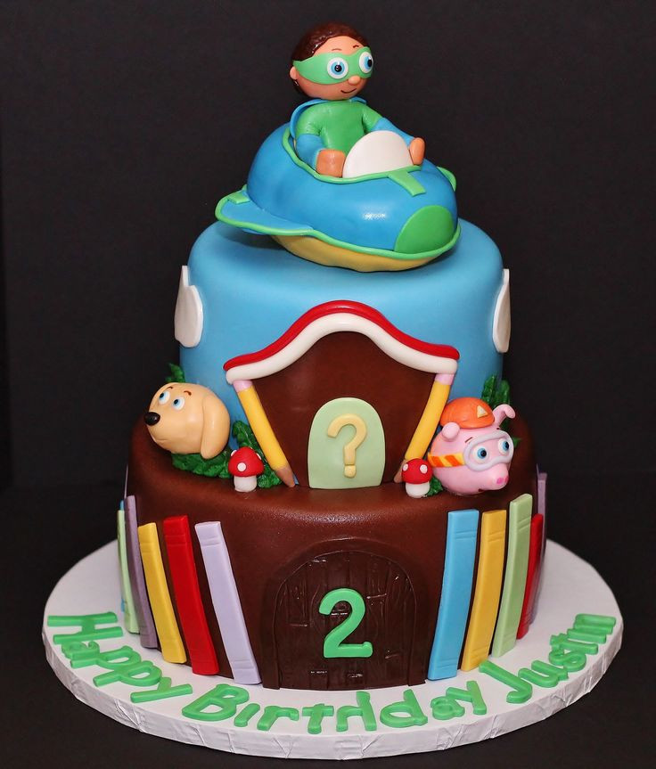 Best ideas about Super Why Birthday Cake . Save or Pin 1000 ideas about Super Why Cake on Pinterest Now.
