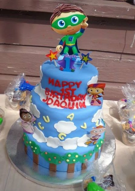 Best ideas about Super Why Birthday Cake . Save or Pin Super Why Cake Now.