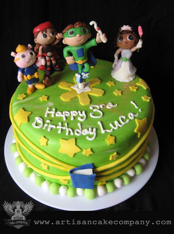 Best ideas about Super Why Birthday Cake . Save or Pin 33 best images about Super Why Cakes on Pinterest Now.