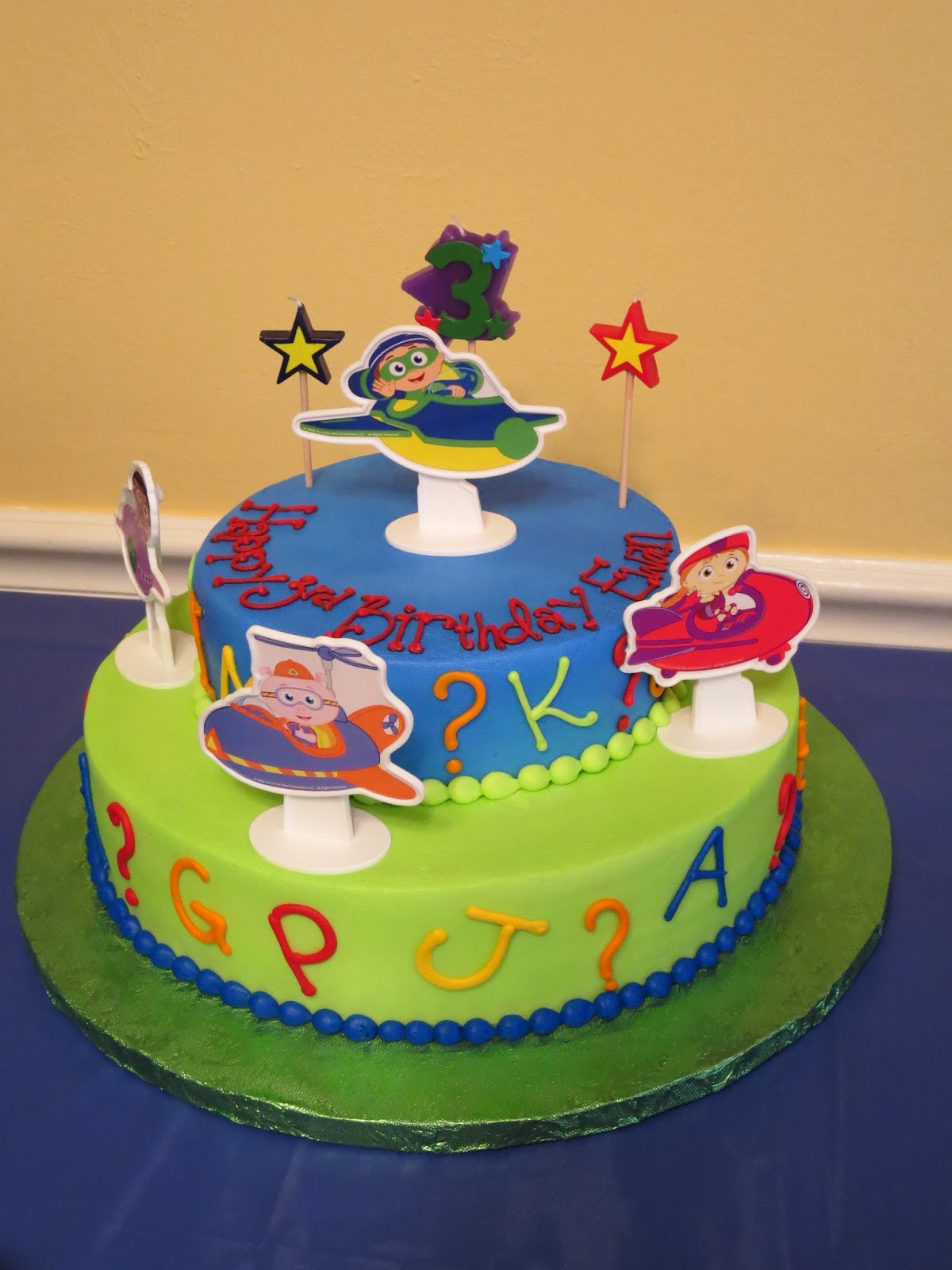 Best ideas about Super Why Birthday Cake . Save or Pin Ewan s Third Birthday Now.