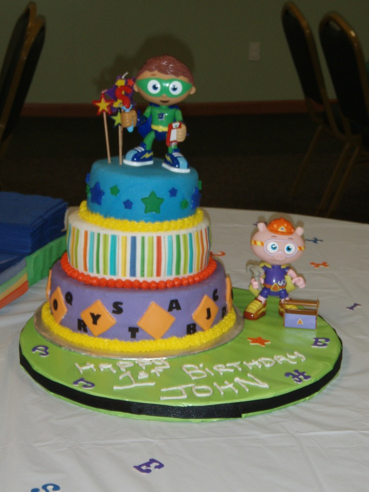 Best ideas about Super Why Birthday Cake . Save or Pin Super Why birthday cake Now.
