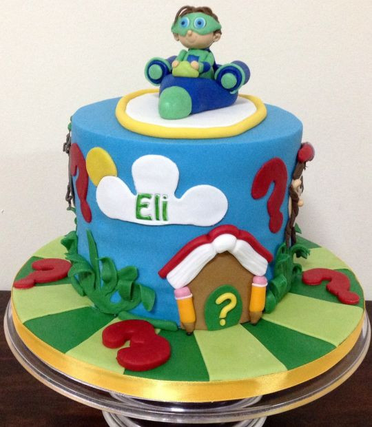 "Best ideas about Super Why Birthday Cake . Save or Pin 3rd Birthday ""Super Why "" Cake Cake by MariaStubbs Now."