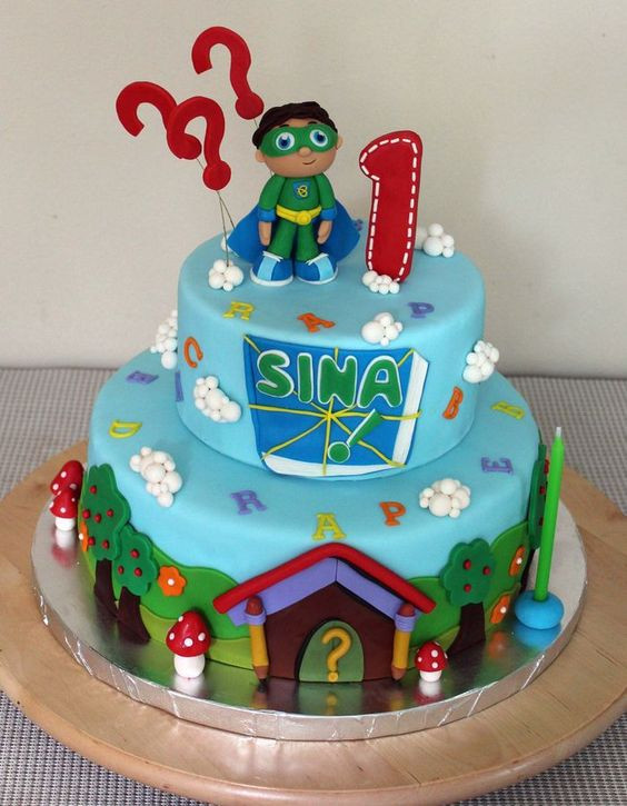 Best ideas about Super Why Birthday Cake . Save or Pin Super why cake Super why and Cakes on Pinterest Now.