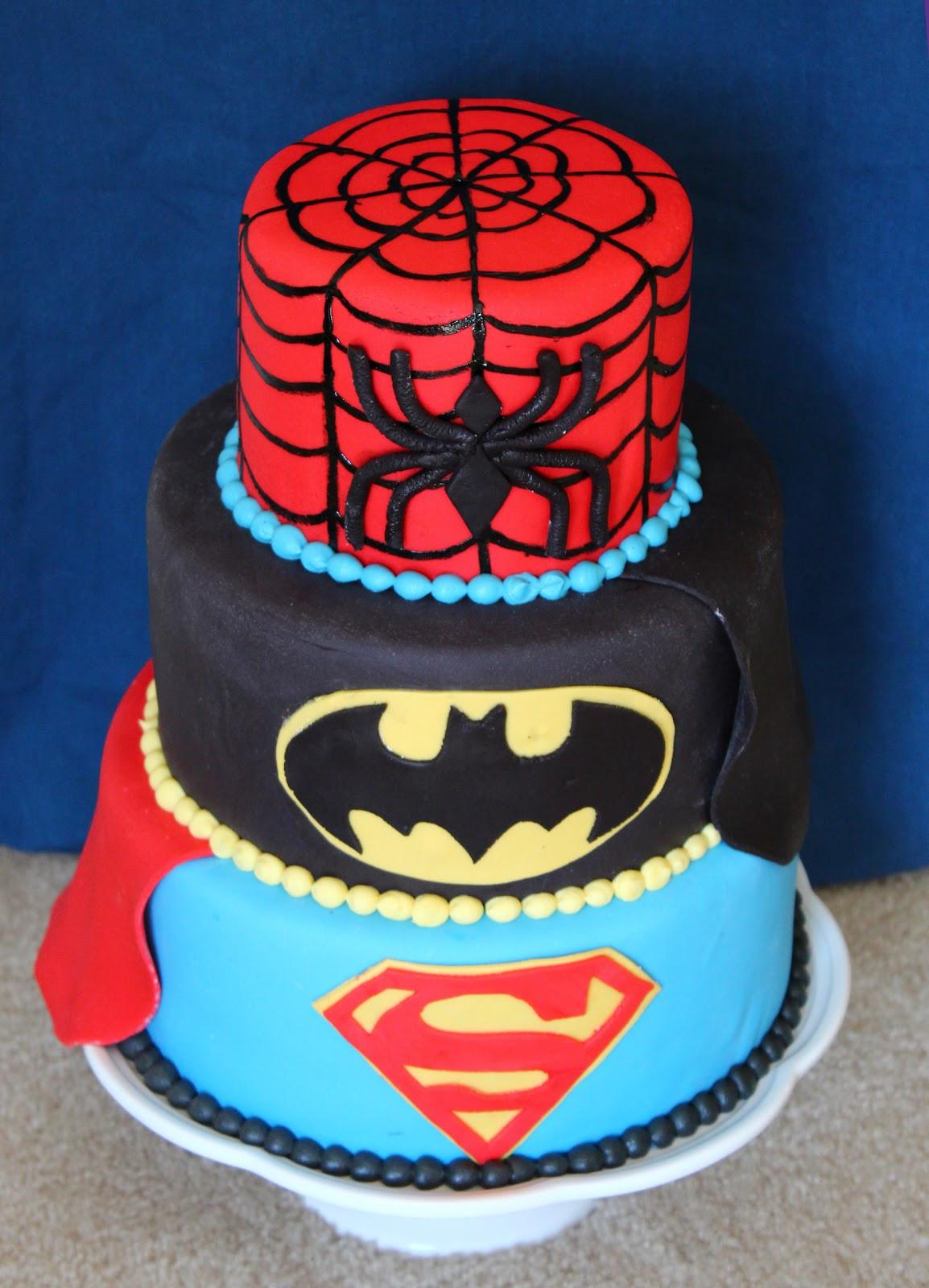 Best ideas about Superhero Birthday Cake . Save or Pin Cake Flair Superhero Cake Now.