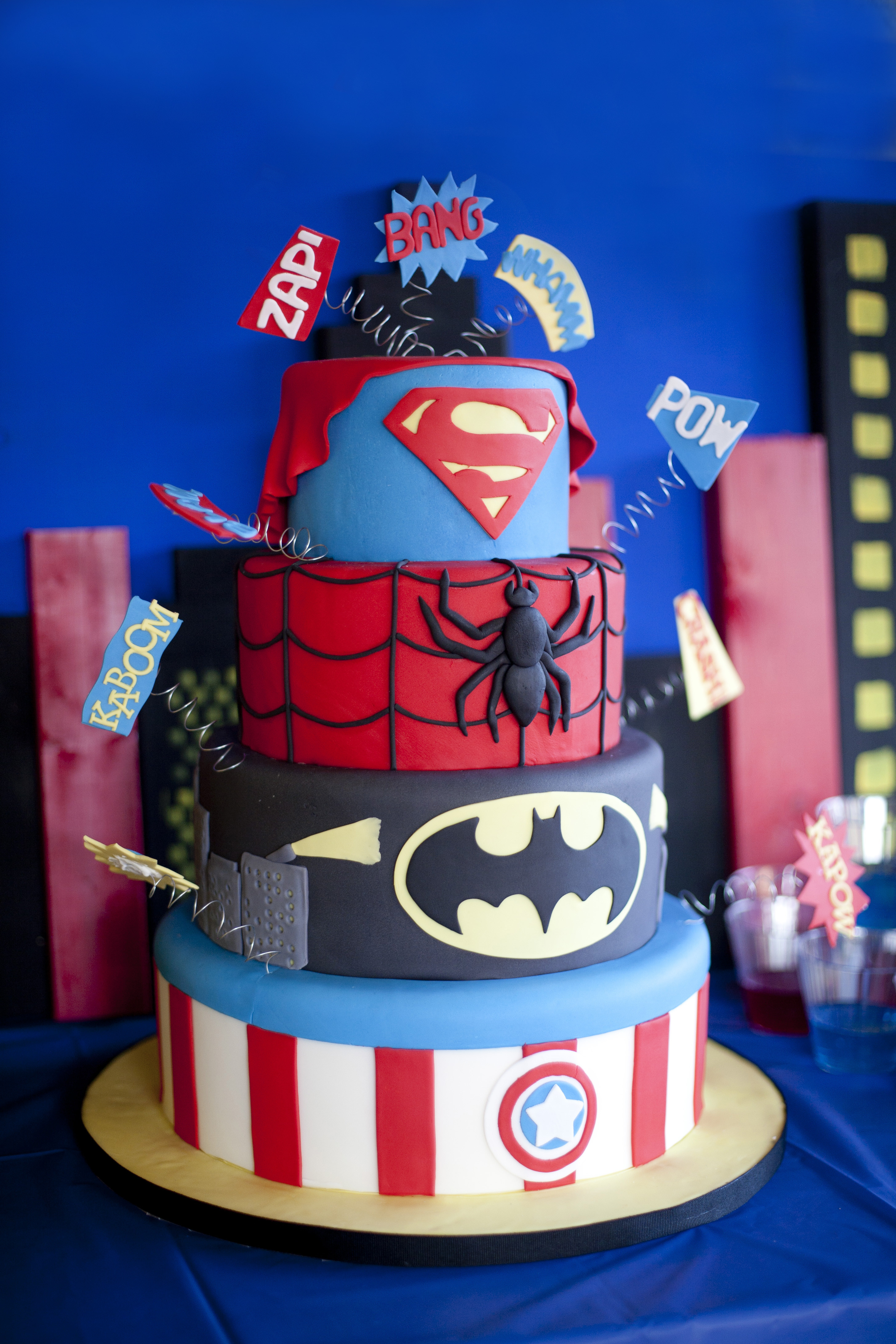 Best ideas about Superhero Birthday Cake . Save or Pin Super Hero Birthday Party Now.