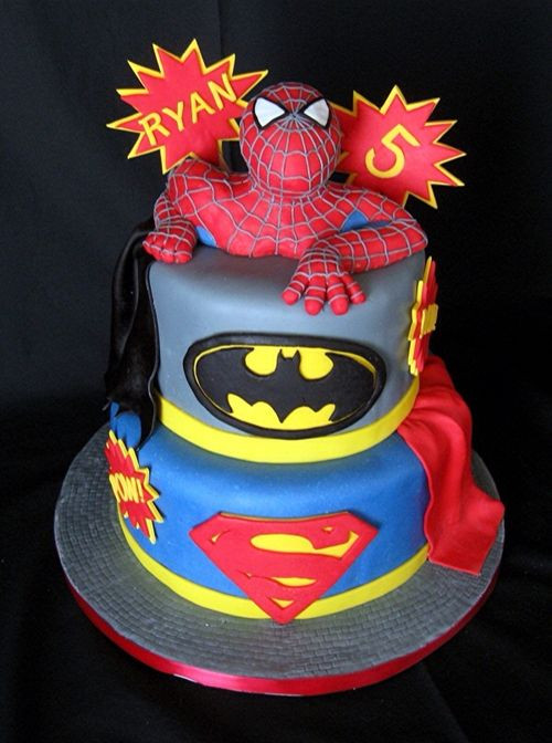 Best ideas about Superhero Birthday Cake . Save or Pin Super Hero Super Hero Cake Now.