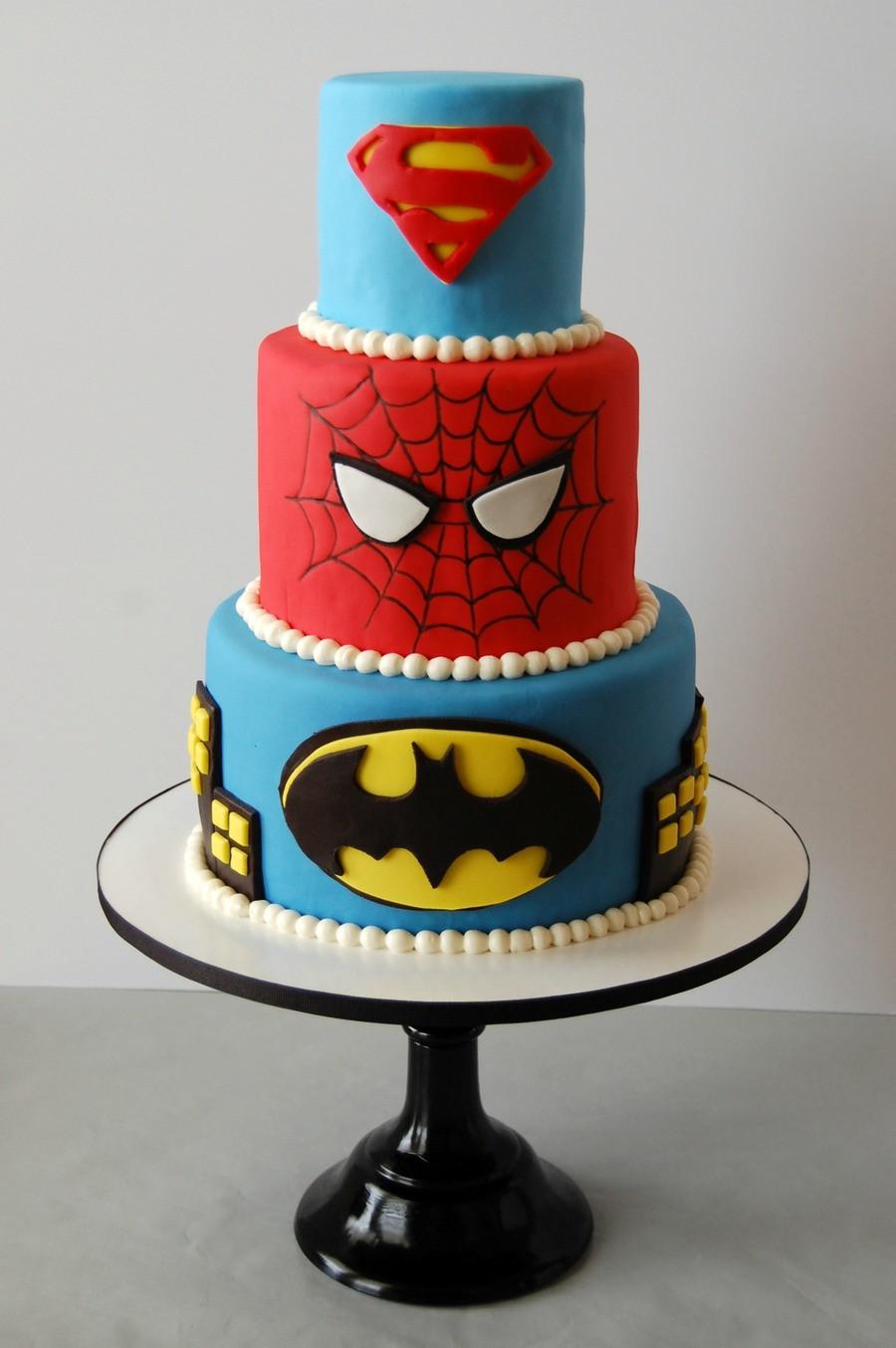 Best ideas about Superhero Birthday Cake . Save or Pin Superhero Birthday Cake CakeCentral Now.