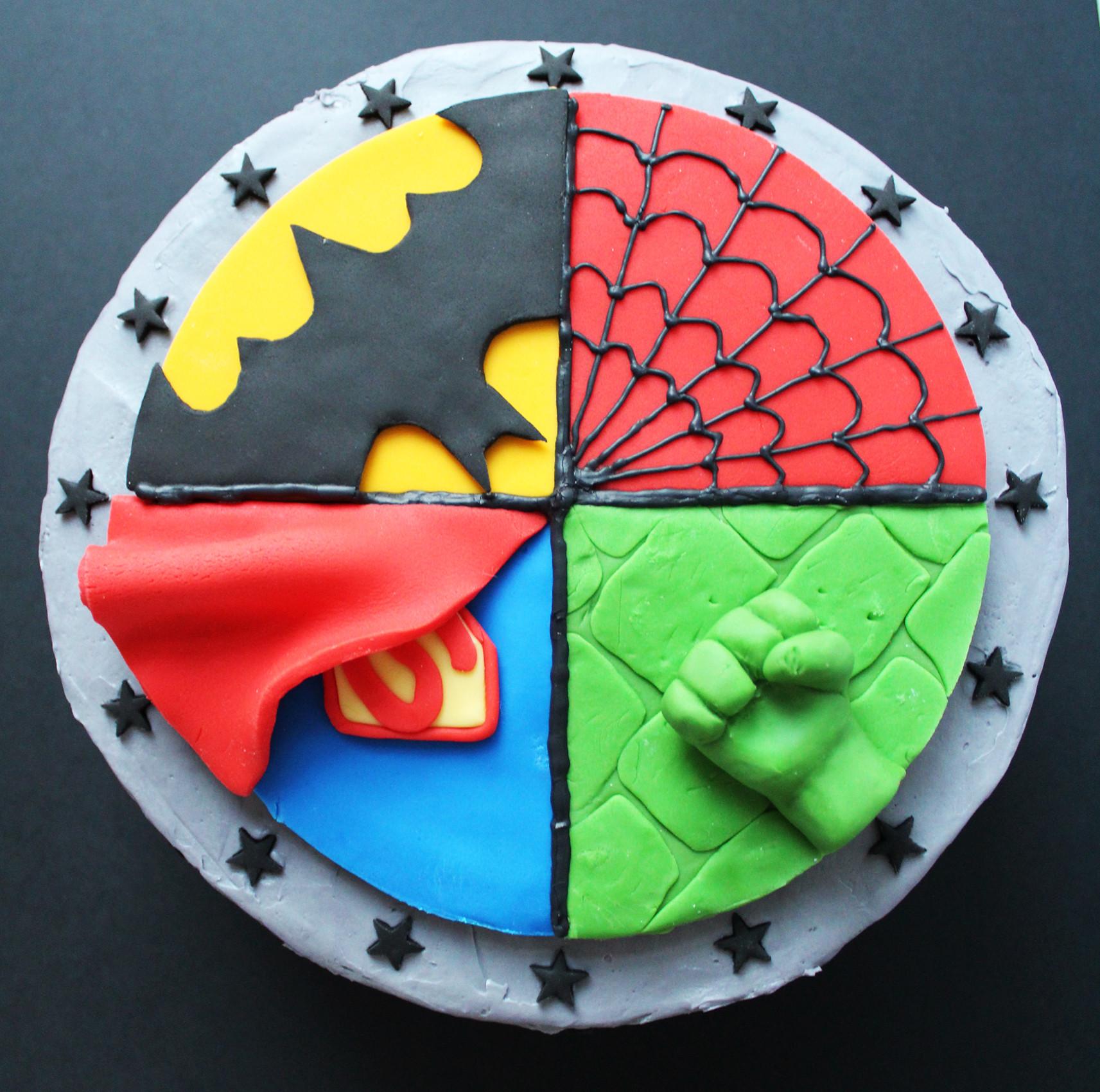 Best ideas about Superhero Birthday Cake . Save or Pin Superhero Cake Ever So Sweet Blog Now.